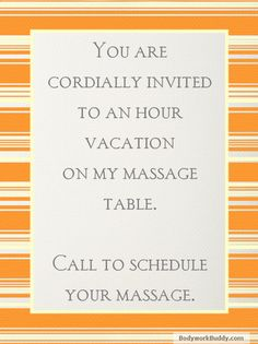 Bodywork Buddy Blog : 11 Ways Getting a Massage is Better Than Taking a Vacation