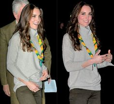 Catherine,Duchess of Cambridgearrives at the Cub Scout Pack mtg to celebrate the 100th birthday of the Cubs. |December 14th, 2016