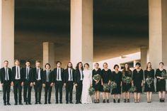 Artistic Industrial Desert Wedding at The Doyle Las Vegas