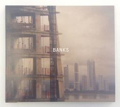 Banks, the new album by Paul Banks (of Interpol), who not only recorded the album, but art directed it and provided the photography. Design by David Calderley at Graphictherapy NYC. Label: Matador.