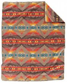 Pendleton Wool Blanket, Native American Design, Woolen Mills, Sales Tax, Native Americans, Contemporary Design, Nativity, Beds, Weaving
