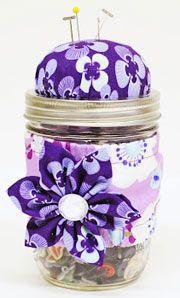 Mason Jar Sewing Kit - CLICK HERE