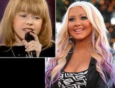 """Before Christina Aguilera was judging singers on """"The Voice,"""" she was getting judged as a young singer on """"Star Search."""" During an interview with Aguilera on """"The Tonight Show"""" Sept. 28, host Jay Leno showed the singer a clip of her singing """"A Sunday Kind of Love"""" on """"Star Search"""" in 1990. Aguilera, 31, cringed at the tape, saying """"I didn't even win, I came in second!"""""""