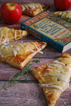 The Redwall Books always have the best feasts - This apple turnover recipe features easy homemade puff pastry and a lovely honey-thyme filling any book lover will enjoy!