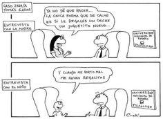 La dura realidad de la #Psicologia Infantil con padres mal enfocados. #Humor