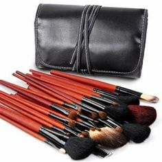 30teilig Profi Make-up Pinsel Lidschattenpinsel Rougepinsel Brush mit Etui Set: Amazon.de: Parfümerie & Kosmetik