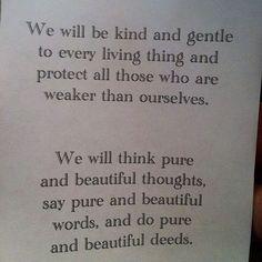 A Buddhist Prayer