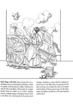 abigail adams coloring pages-#15
