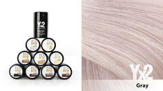 Yx2-hiustuuhennetta on saatavana 9 eri värisävyä, kuten tämä tyylikäs harmaa (gray). Voit käyttää myös eri sävy-yhdistelmiä, jolloin löydät tarvittaessa juuri oikean sävyn. Yx2-tuotteet löydät: www.yx2.fi/kauppa #yx2 #hiustuuhenne #sävy #color #gray #harmaa