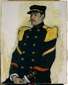 Albert Marquet - Sergeant of the Colonial Regiment - 1907