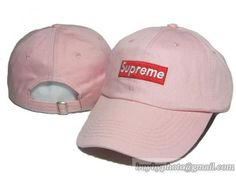 Supreme Baseball Caps Adjustable Hat Curved Cap Pink|only US$8.90 - follow me to pick up couopons.
