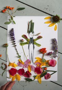 Nature Paper Dolls