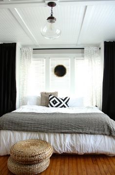 Glass Pendant Bedroom Light via Lifestyle and Design Online