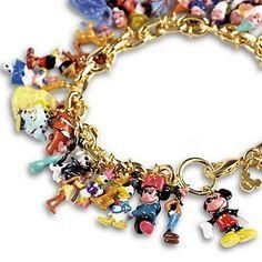 Ultimate Disney Classic Charm Bracelet: Amazon.co.uk: Jewellery