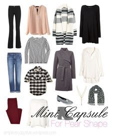 How to Create A Capsule Wardrobe for A Pear Shape.
