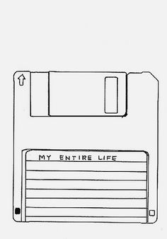 I can identify with this image, because my first serious writing attempts occurred on floppy disks. At that time, I was trying to communicate everything about my life. Just a coming of age thing to do. #reminisce