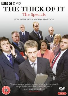 The Thick of It: The Specials (2009) created by Armando Iannucci, starring Peter Capaldi, Chris Addison and Joanna Scanlon.  Special 2006: Something goes terribly wrong on BBC2's Newsnight and everything begins to unravel for Malcolm Tucker.  Special 2007: The Westminster village is now in meltdown after the Prime Minister's shock resignation. Malcolm Tucker fights to save his political career.