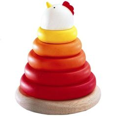 Djeco Cachempil Mother Hen - Gretchen said: omw. There's an egg piece on the inside. PLEASE someone buy this for my baby.