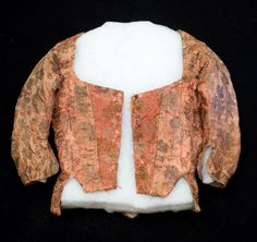 Snowshill Manor © National Trust / Simon Harris  Date  1750 - 1800 Materials  Damask, Linen, Metal, Silk, Thread Order this image Collection  Snowshill Wade Costume Collection, Gloucestershire (Accredited Museum) On show at  Not on show  NT 1348756