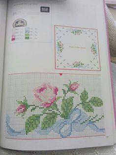 Cross Stitch Borders, Cross Stitch Patterns, Bullet Journal, Armin, Embroidery, Crossstitch, Deli, Blog, Tutorials