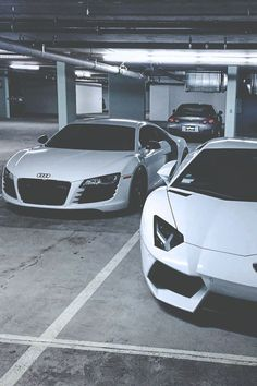 Audi and Lamborghini