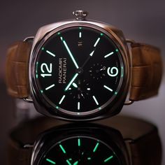 Turn out the lights @ocwatchcompany style.  #Panerai PAM323 10 Day GMT.