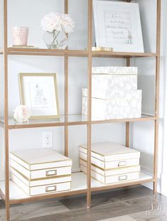 Blush And Gold Glam Office Reveal – Summer Adams – Chic Home Office Design Home Office Space, Home Office Design, Home Office Furniture, Home Design, Office Designs, Small Office, Interior Design, Interior Office, Furniture Showroom