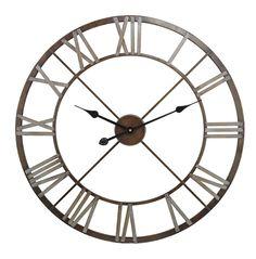 """27"""" Open Center Iron Wall Clock"""