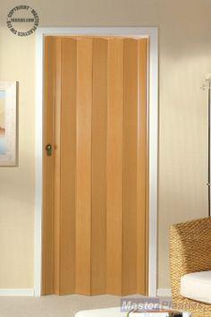 The Eurostar Folding Door - Beech Internal Folding Doors, Furniture, Home Decor, Yurts, Decoration Home, Room Decor, Home Furnishings, Home Interior Design, Home Decoration