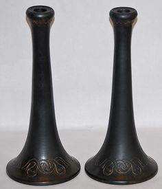 Norse Pottery Candle Holders 54 from Just Art Pottery