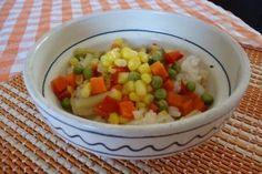 Reteta culinara Orez cu legume la steamer din Carte de bucate, Retete de post. Specific Romania. Cum sa faci Orez cu legume la steamer