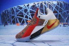 d3a9b5c8af0f45 Nike LeBron Ambassador 11 LBJ Black Grey White Red Blue Gold Men s  Basketball Shoes Lebron James