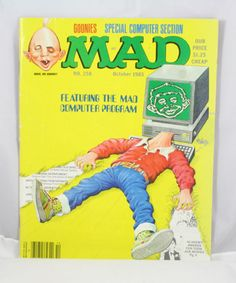 Mad Magazine 258 by cebcollectibles on Etsy, $3.00