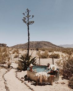 In the interest of helping you soak up the summer, here are five stock tank-style pools so chic we're willing to bet they'll inspire you to head to the nearest farm supply store stat. Round Stock Tank, Stock Tank Pool, Desert Dream, Desert Life, Desert Oasis, Palm Desert, Galvanized Stock Tank, Tadelakt, Diy Pool