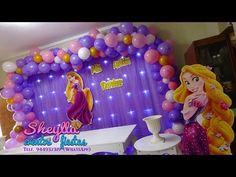 Rapunzel Birthday Party, 6th Birthday Parties, Princesa Rapunzel Disney, Birthday Decorations, Tangled, Ideas Para, Party Themes, Halloween, Rv