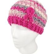 Breast Cancer Awareness Beanie - Free - via @Craftsy