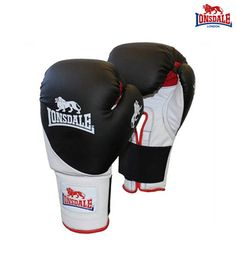 Lonsdale Pro Bag Leather Glove Boxing Gloves
