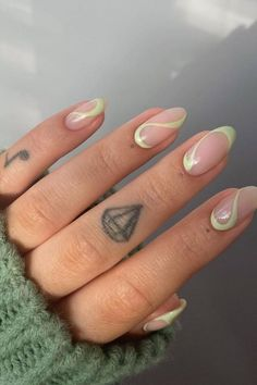 65 Hottest Summer nails colors 2021 trends to get inspired ! - Page 3 of 7 - Chic Nails, Stylish Nails, Swag Nails, Almond Acrylic Nails, Best Acrylic Nails, Summer Acrylic Nails Designs, Colourful Acrylic Nails, Funky Nails, Edgy Nails