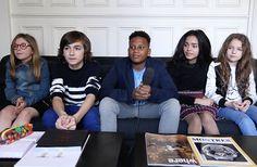 Les Kids United sont un groupe de jeunes chanteur•ses âgé•es de huit à seize ans. Les voici en interview vidéo !