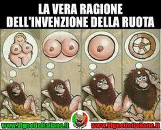 Ruota e #tette #vignetteitaliane.it #vignette #italiane #immagini #divertenti #lol #funnypics #umorismo #humour #humor #ridere #risate #sexy #sesso #donne #piccanti