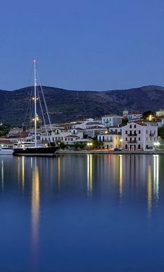 Galaxidi at dusk, Phocis, Greece | by Nikos Golfis