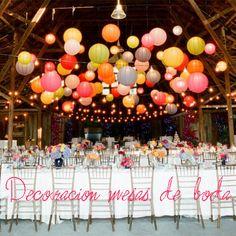 decoracion mesas de bodas #deco #weddings #events