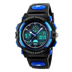 HIwatch Youth Watches Water-resistant Sports Digital Wrist Watch.  Super cool fun toys for that special 10 year old. These are the toys our 10 year old Loves!