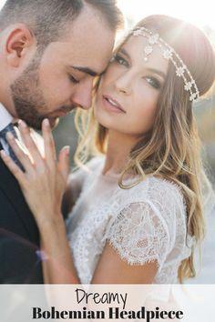 Bohemian Wedding Hair Accessory, Gold Wedding Chain Headpiece, Wedding Headpiece, Bridal Headpiece, Boho, Egyptian Tiara, Bohemian- SIA #ad
