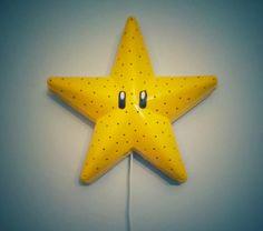 Fabriquez votre applique étoile Super Mario Bros !  #ikea #mario #SmillaStjärna