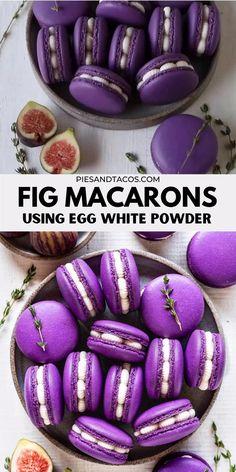 Easy Macaroons Recipe, French Macaroon Recipes, Macaron Recipe, Fun Baking Recipes, Cookie Recipes, Dessert Recipes, Pancake Recipes, Waffle Recipes, Burger Recipes