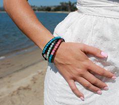 Summer Goddess Triple Wrapped Ladder Bracelet by VanaLynn on Etsy, $218.00 now only $175 shop www.vanalynn.com