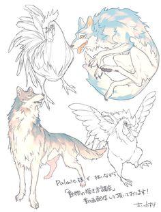 Palmie様配信「動物の描き方講座」で描かせて頂いたイラストです (https://www.palmie.jp/lessons/83) 動物絵に興味を持ったまま描く機会を殆ど作れてなかったのですが、四足動物の足って凄くセクシーで!また描きたいです*・∇・*