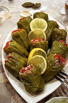 Seeyou Turkey — Turkish specialty Dolma - stuffed green pepper