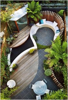 Design with Curves and Mix of Materials
